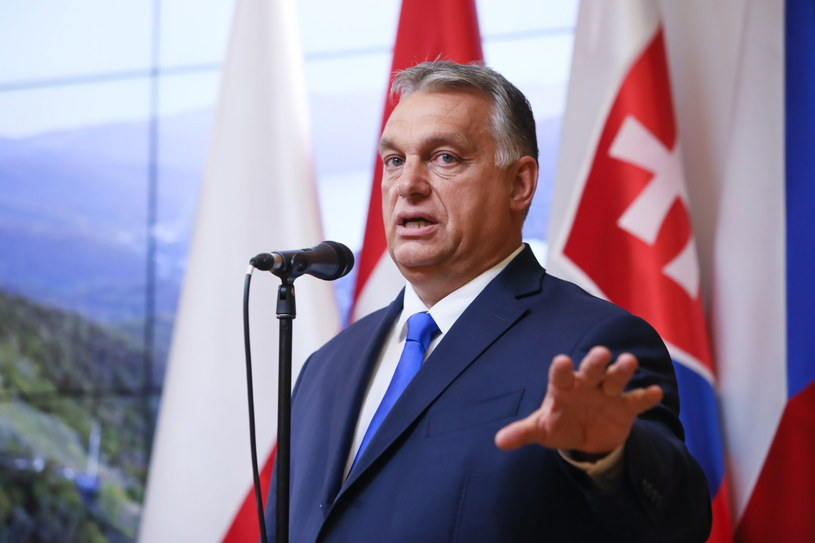 Premier Węgier Viktor Orban / Leszek Szymański    /PAP