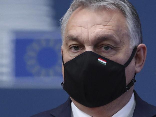 Premier Węgier Viktor Orban /YVES HERMAN / POOL /PAP/EPA