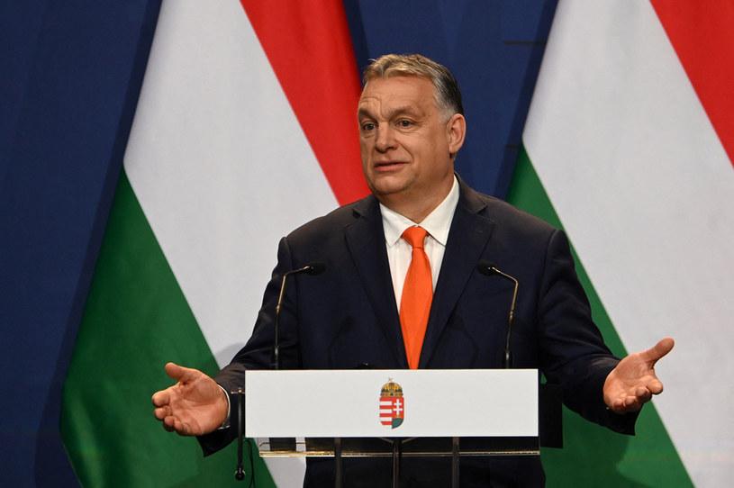 Premier Węgier Viktor Orban /ATTILA KISBENEDEK / AFP /AFP