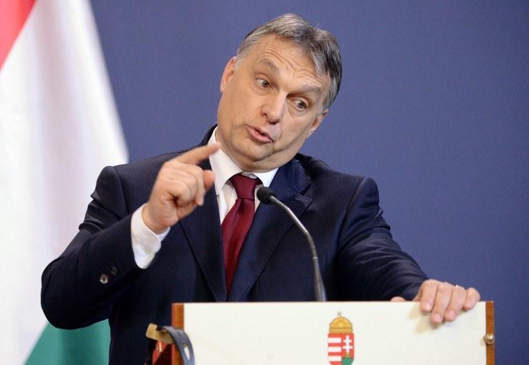 Premier Węgier Wiktor Orban /AFP