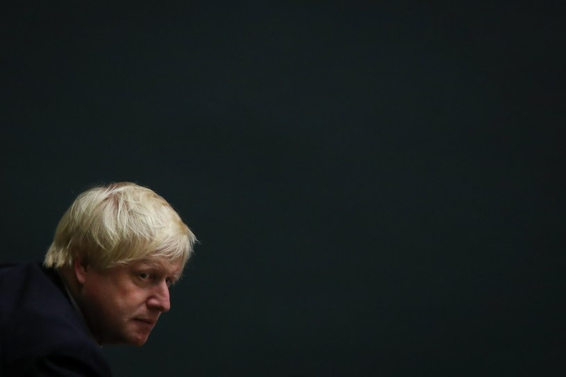 Premier Wielkiej Brytanii Boris Johnson /AFP