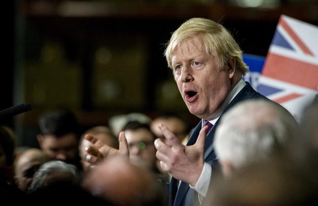 Premier Wielkiej Brytanii Boris Johnson /PETER POWELL   /PAP/EPA