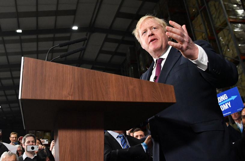 Premier Wielkiej Brytanii Boris Johnson /BEN STANSALL / AFP /AFP