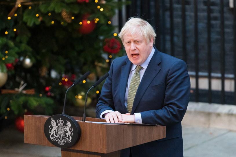 Premier Wielkiej Brytanii Boris Johnson /VICKIE FLORES /PAP