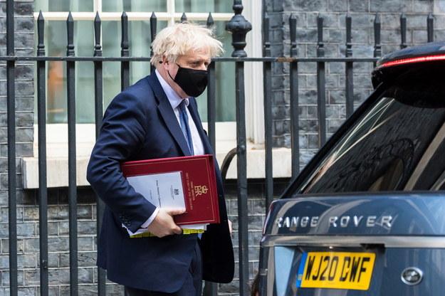 Premier Wielkiej Brytanii Boris Johnson /VICKIE FLORES /PAP/EPA