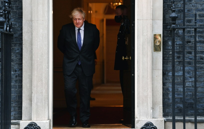 Premier Wielkiej Brytanii Boris Johnson /PAP/EPA/ANDY RAIN /PAP