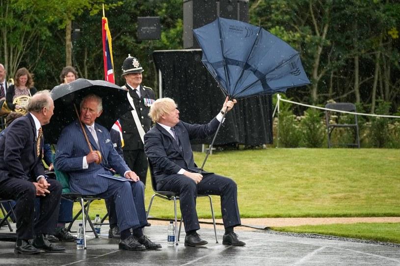 Premier Wielkiej Brytanii Boris Johnson /Christopher Furlong /AFP
