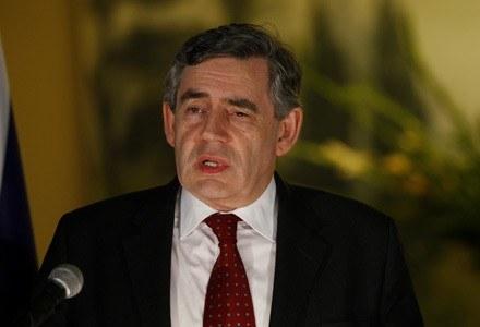 Premier Wielkiej Brytanii, Gordon Brown /AFP