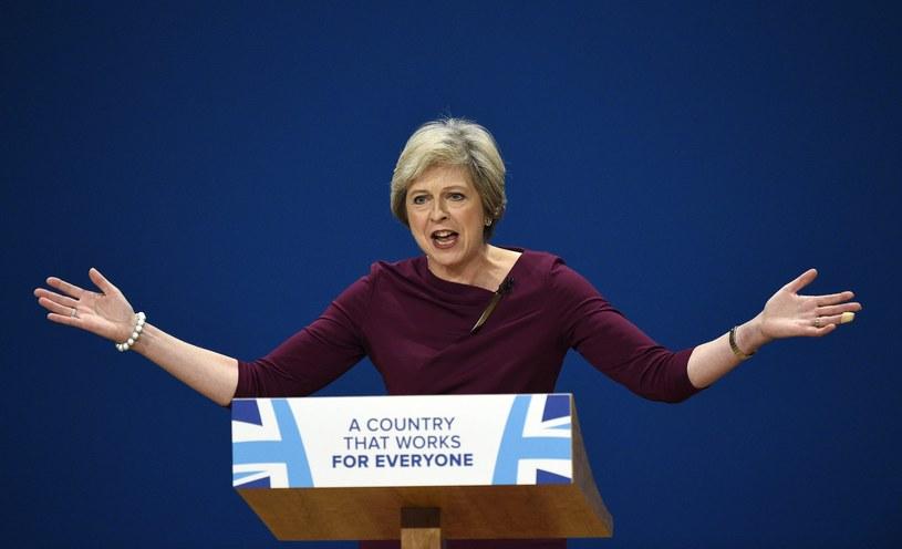 Premier Wielkiej Brytanii Theresa May /PAP/EPA