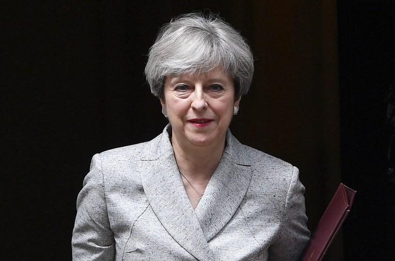 Premier Wielkiej Brytanii Theresa May /FACUNDO ARRIZABALAGA /PAP/EPA