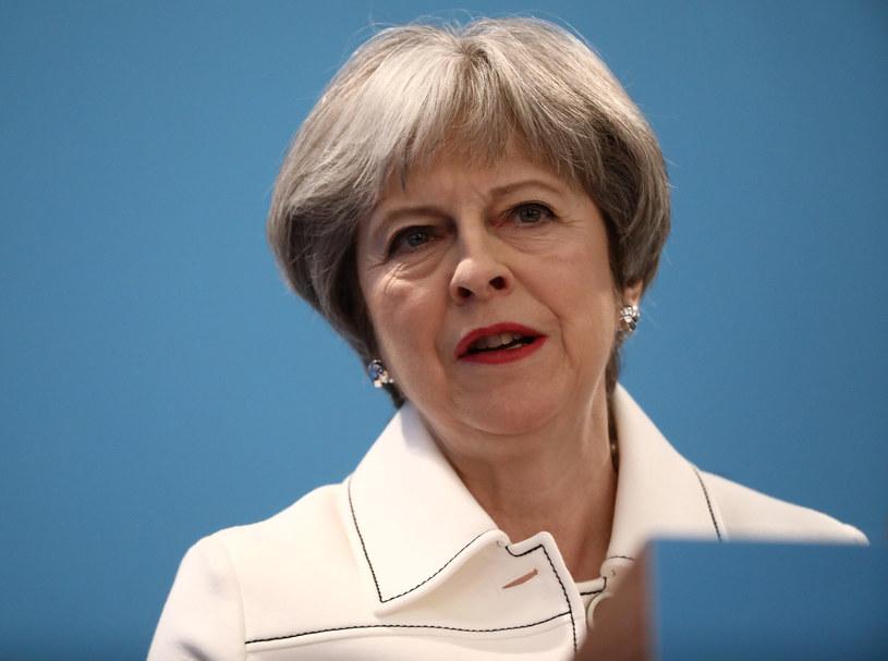 Premier Wielkiej Brytanii Theresa May /SIMON DAWSON /AFP