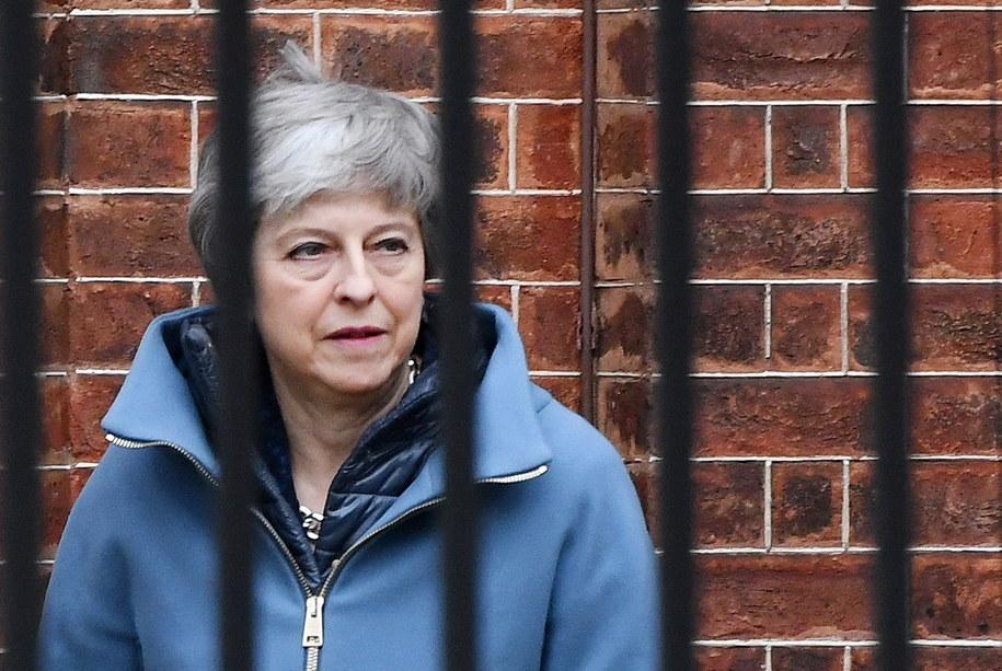 Premier Wielkiej Brytanii Theresa May /ANDY RAIN /PAP/EPA