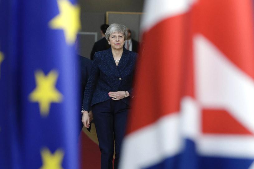 Premier Wielkiej Brytanii Theresa May /ARIS OIKONOMOU /AFP