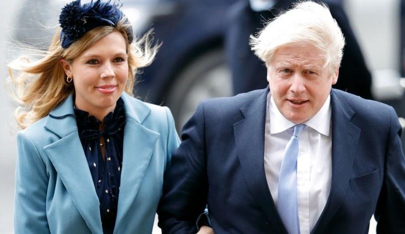 Premier Wielkiej Brytanii ze swoją nową partnerką nie wzięli ślubu /Getty Images