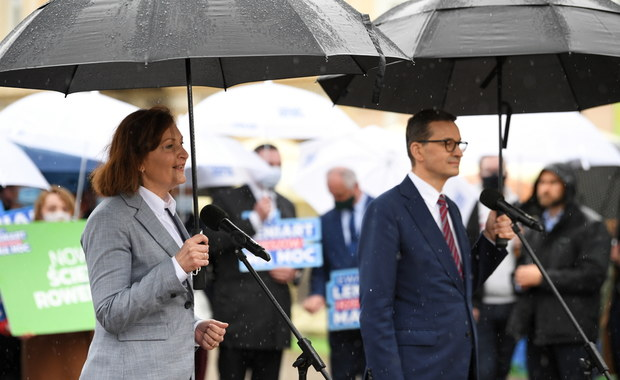 """Premier włączył się w kampanię w Rzeszowie. """"Leniart ma cechy najlepszego kandydata"""""""