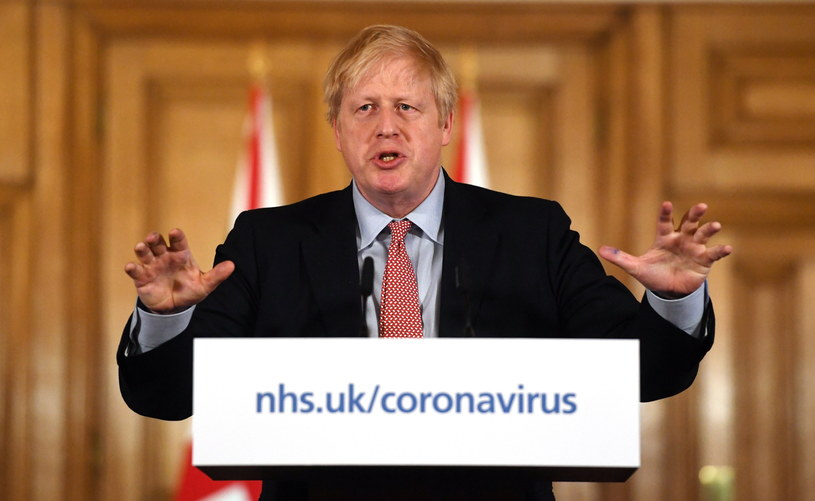 Premier Wlk. Brytanii Boris Johnson /FACUNDO ARRIZABALAGA /PAP/EPA