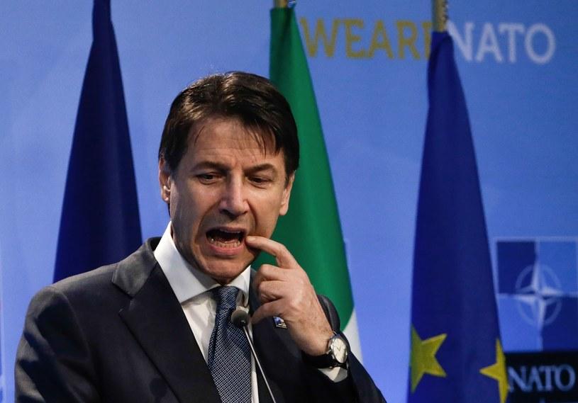 Premier Włoch Giuseppe Conte /AFP