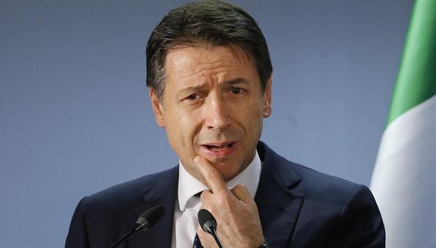Premier Włoch Giuseppe Conte /JULIEN WARNAND /PAP/EPA