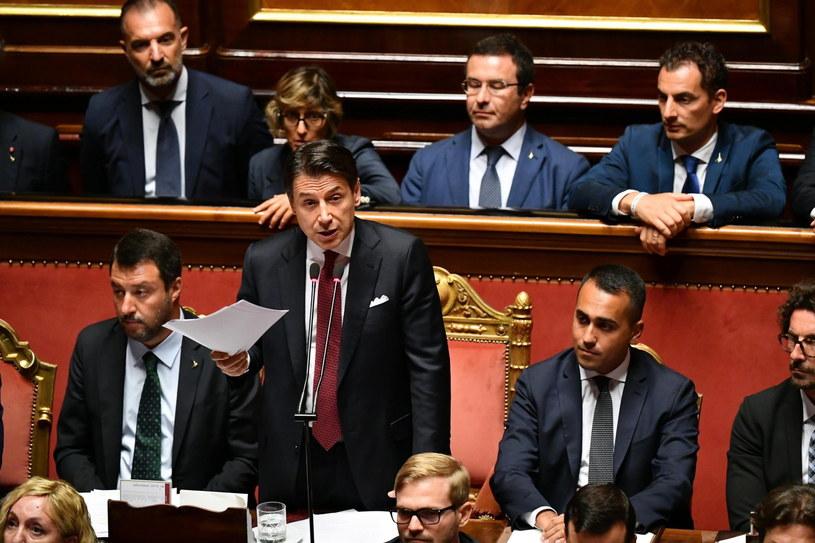 Premier Włoch Giuseppe Conte /ETTORE FERRARI /PAP/EPA