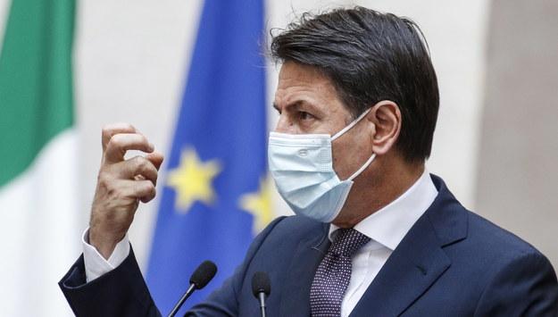 Premier Włoch Giuseppe Conte /GIUSEPPE LAMI /PAP/EPA