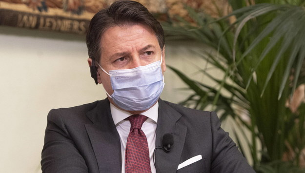 Premier Włoch Giuseppe Conte /Filippo Attili HANDOUT /PAP/EPA
