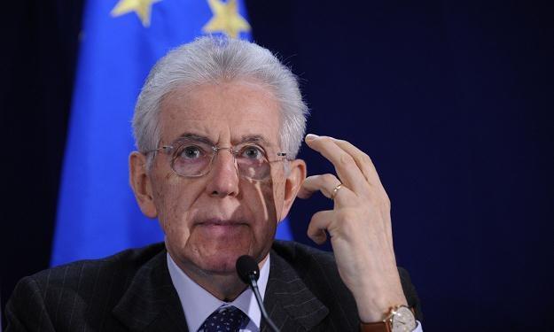 Premier Włoch Mario Monti /AFP