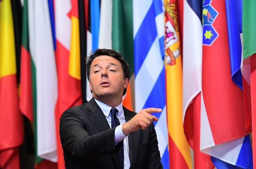Premier Włoch Matteo Renzi /AFP