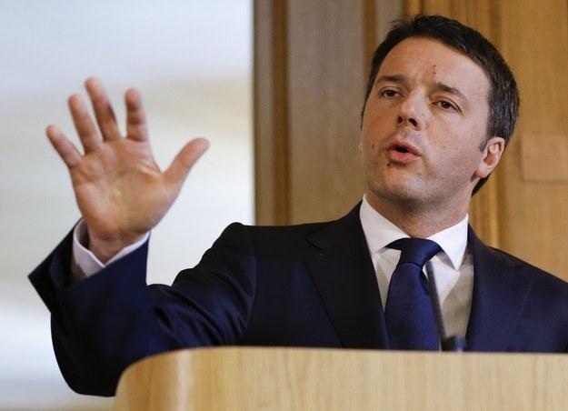 Premier Włoch nie krył irytacji /AFP