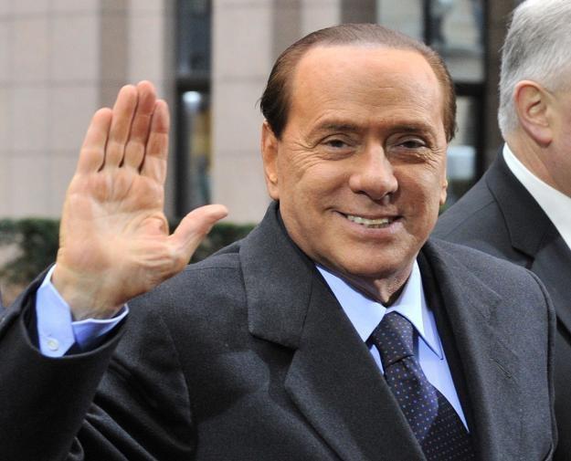 Premier Włoch Silvio Berlusconi /AFP