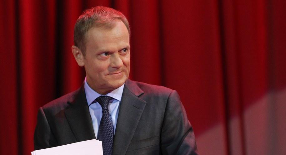 Premier wpuścił dzieci do kancelarii. BOR nie sprawdził gości /Radek Pietruszka /PAP