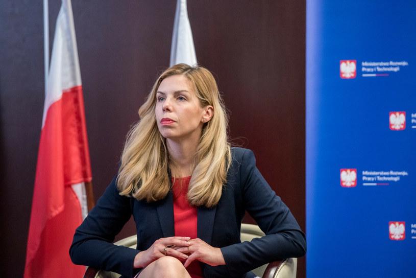 Premier zdymisjonował Annę Kornecką z funkcji wiceszefowej MRPiT /Lukasz Piecyk/REPORTER /East News