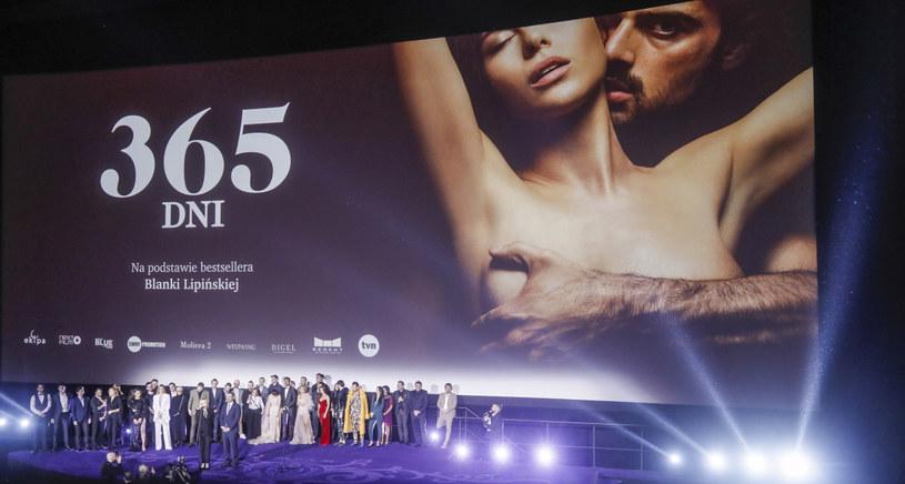 "Premiera filmu ""365 dni"" /Baranowski /AKPA"