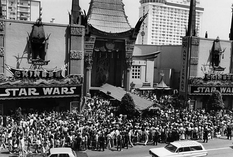 """Premiera """"Gwiezdnych wojen"""" w Mann's Chinese Theater /materiały prasowe"""