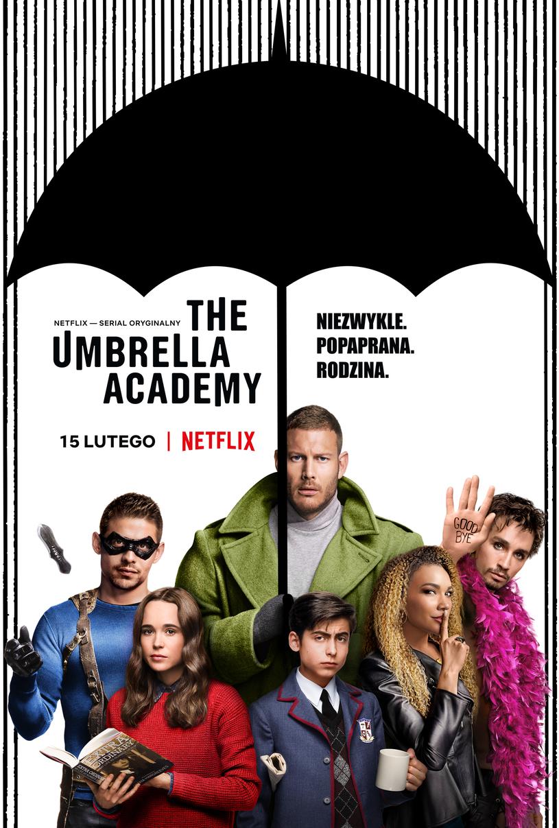 """Premiera serialu """"The Umbrella Academy"""" 15 lutego na Netflix. /materiały prasowe"""