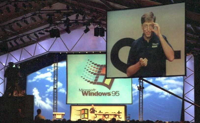 Premiera Windowsa 95 była wielkim wydarzeniem /AFP