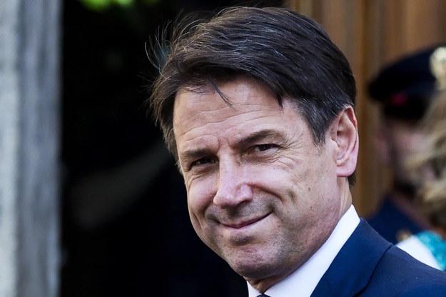 Premierem Włoch ponownie został Giuseppe Conte /ANGELO CARCONI /PAP/EPA