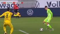 Premierowe trafienie Bartosza Białka dla Wolfsburga. Wideo