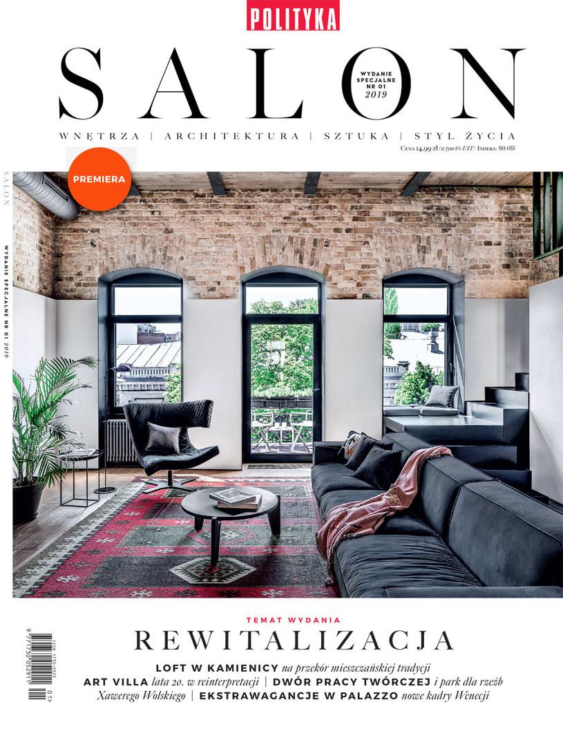 Premierowy SALON nr 1/2019 /materiały promocyjne