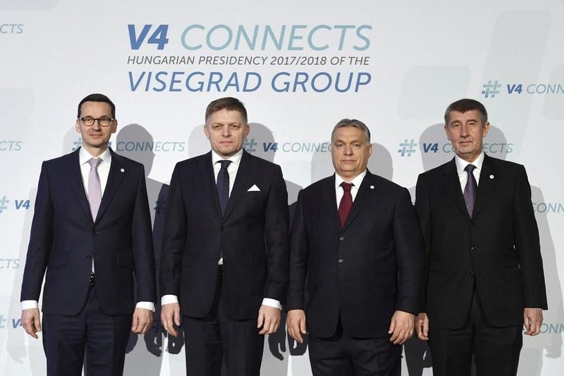 Premierzy krajów Grupy Wyszehradzkiej /Associated Press /East News