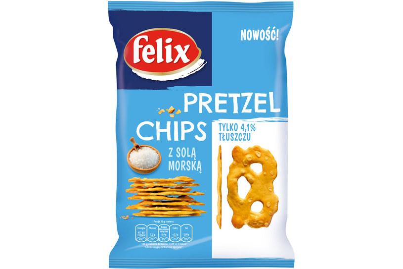 Pretzel Chips marki Felix /Styl.pl/materiały prasowe