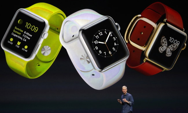 Prezentacja Apple Watch /PAP/EPA/MONICA DAVEY /PAP/EPA