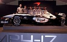 Prezentacja McLarena MP4-17 /INTERIA.PL