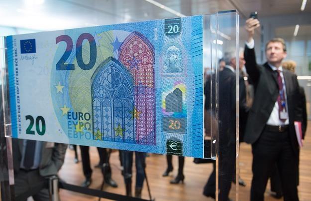 Prezentacja nowego banknotu 20 euro /EPA