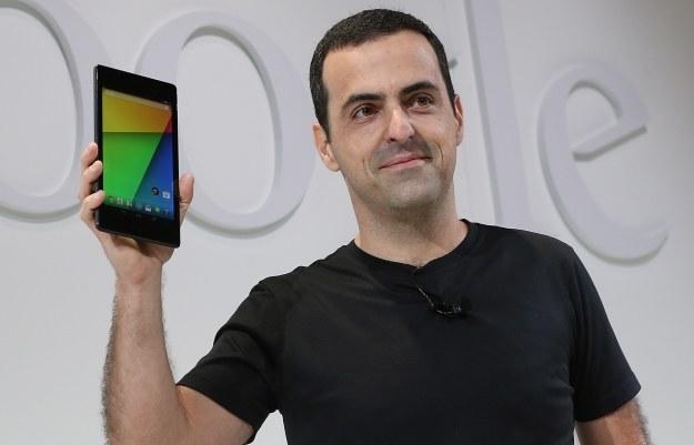 Prezentacja nowego Nexusa 7 i Androida 4.3 /AFP