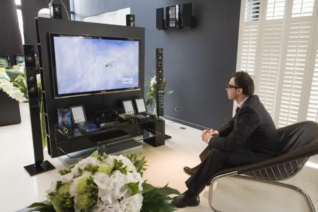 Prezentacja nowych produktów Samsunga odbyła się ww  wnętrzach willi na Saskiej Kępie /materiały prasowe