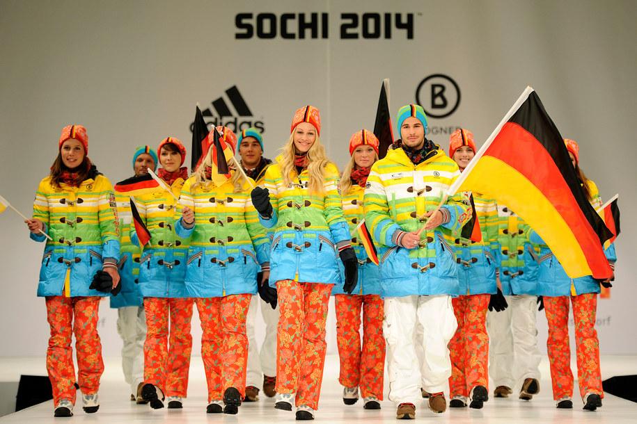 Prezentacja olimpijskiej kolekcji dla ekipy niemieckiej /Marius Becker/DPA /PAP