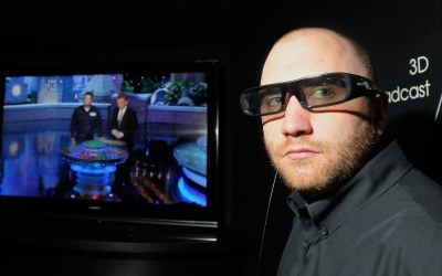 Prezentacja technologii 3D /AFP