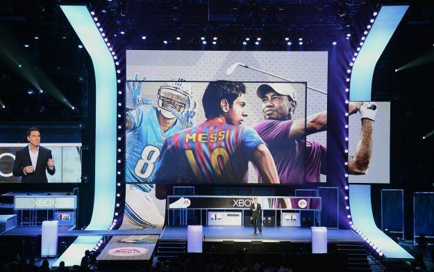 Prezentacji tegorocznych odsłon sportowych serii EA /AFP