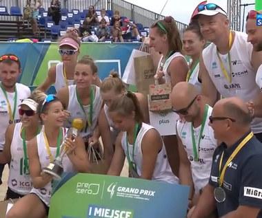 PreZero Grand Prix siatkarek 2021. LOS Nowy Dwór Mazowiecki - Impel #VolleyWrocław 1:2 - skrót. WIDEO (POLSAT SPORT)