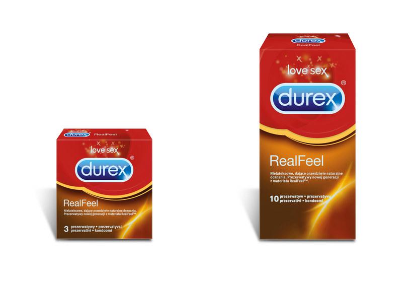 Prezerwatywy Durex RealFeel jest nie tylko cieńsza od produktów konkurencji, ale i bardziej wytrzymała /materiały prasowe